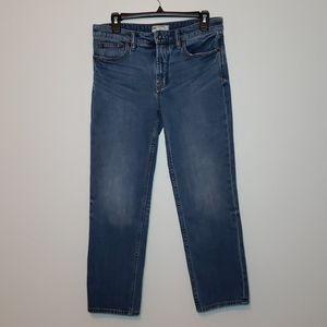 Free people boyfriend ankle jeans